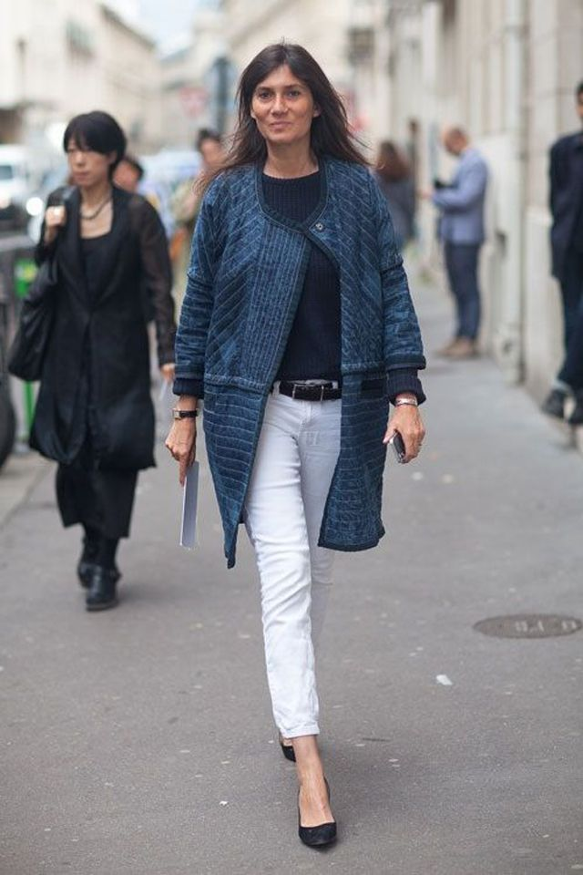 Emmanuelle Alt Style Or How To Be Fashionable Without