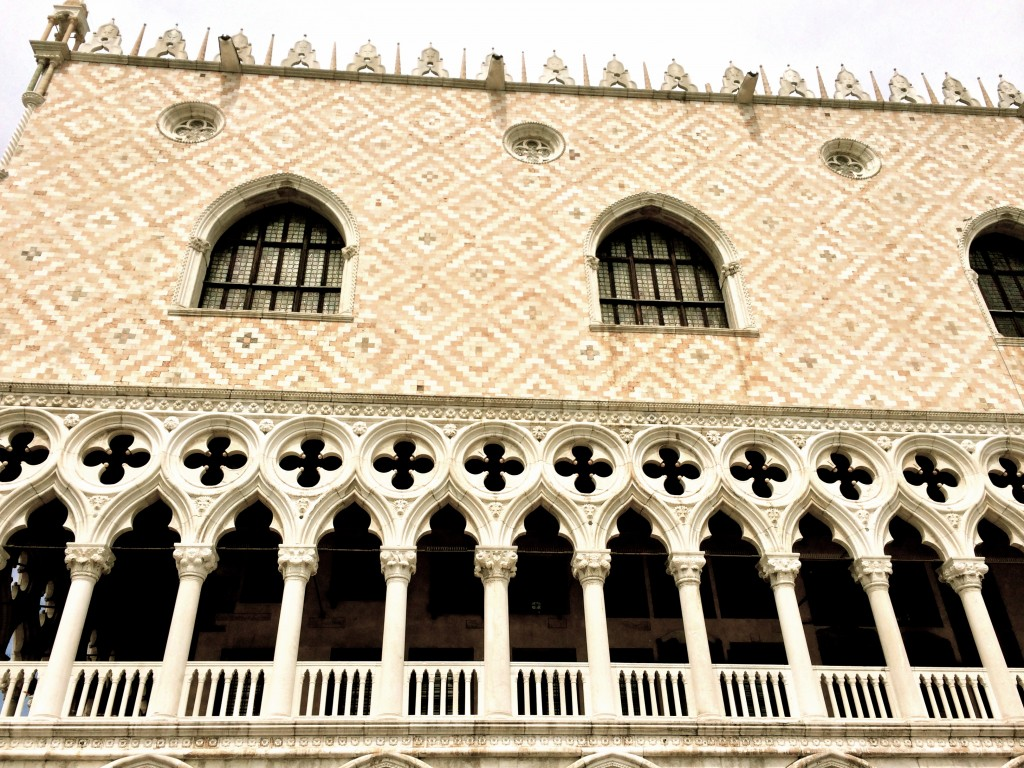 Palazzo ducale, Venice, first floor arcade
