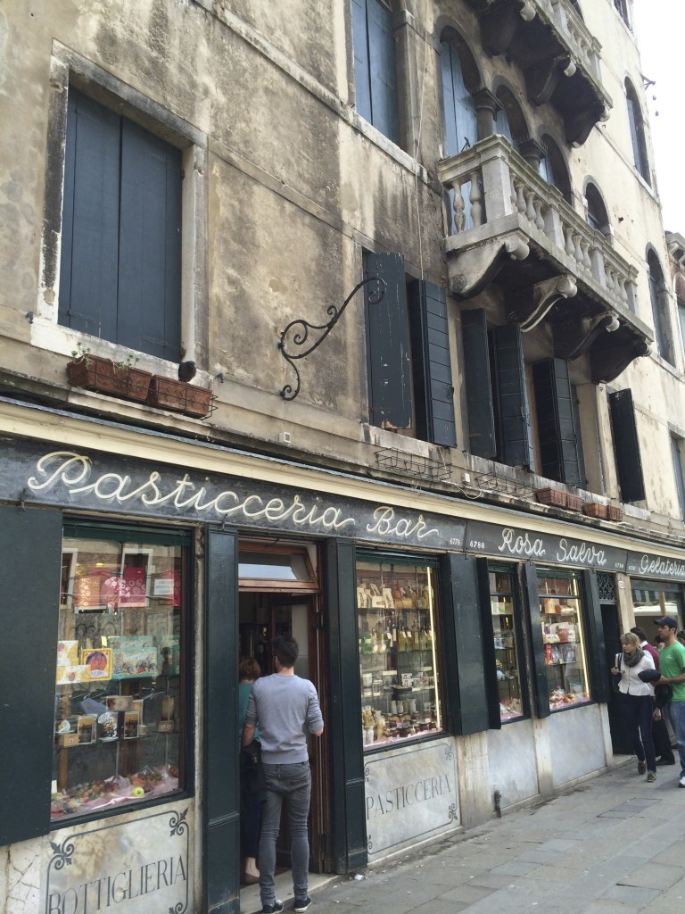Early 19th century store front in Venice