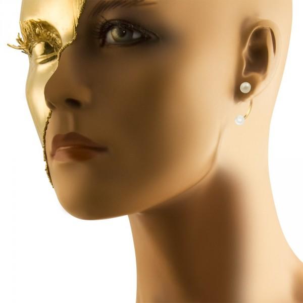Mise En Dior Tribal Earrings