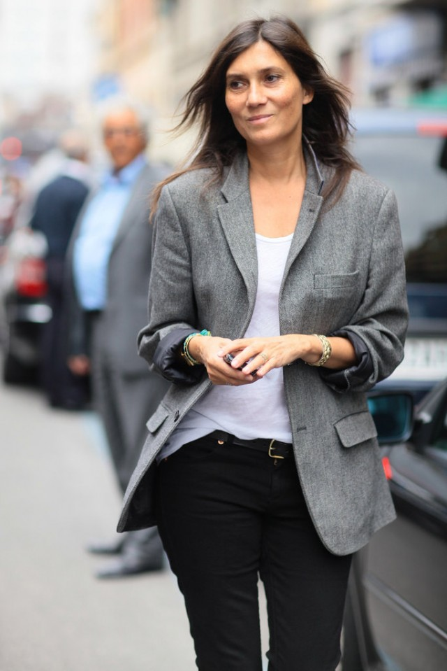 Emmanuelle Alt style or how to be fashionable without ...