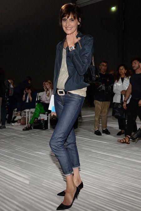 Giambattista valli couture presentation ines de la fressange style
