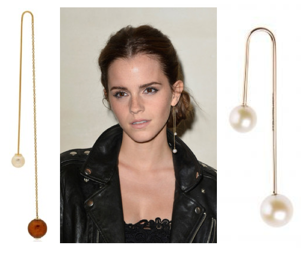 Double Pearl Earrings Dior Best All Earring Photos Kamiliol