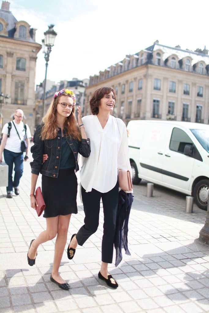 Ines De La Fressange Style Inspirations From Couture Week