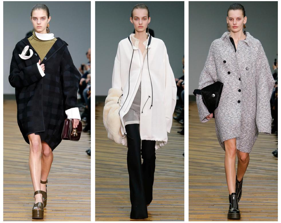 Celine oversized coats