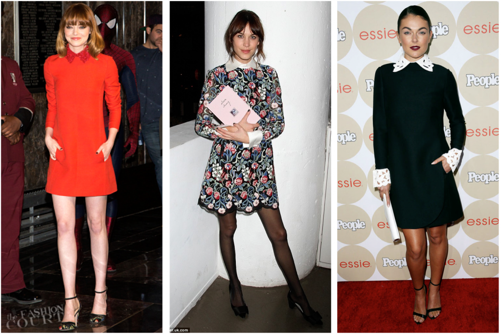 Trend report fall 2014 - The mod shift dress