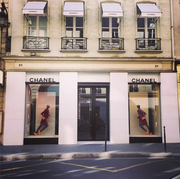 chanel shopping center