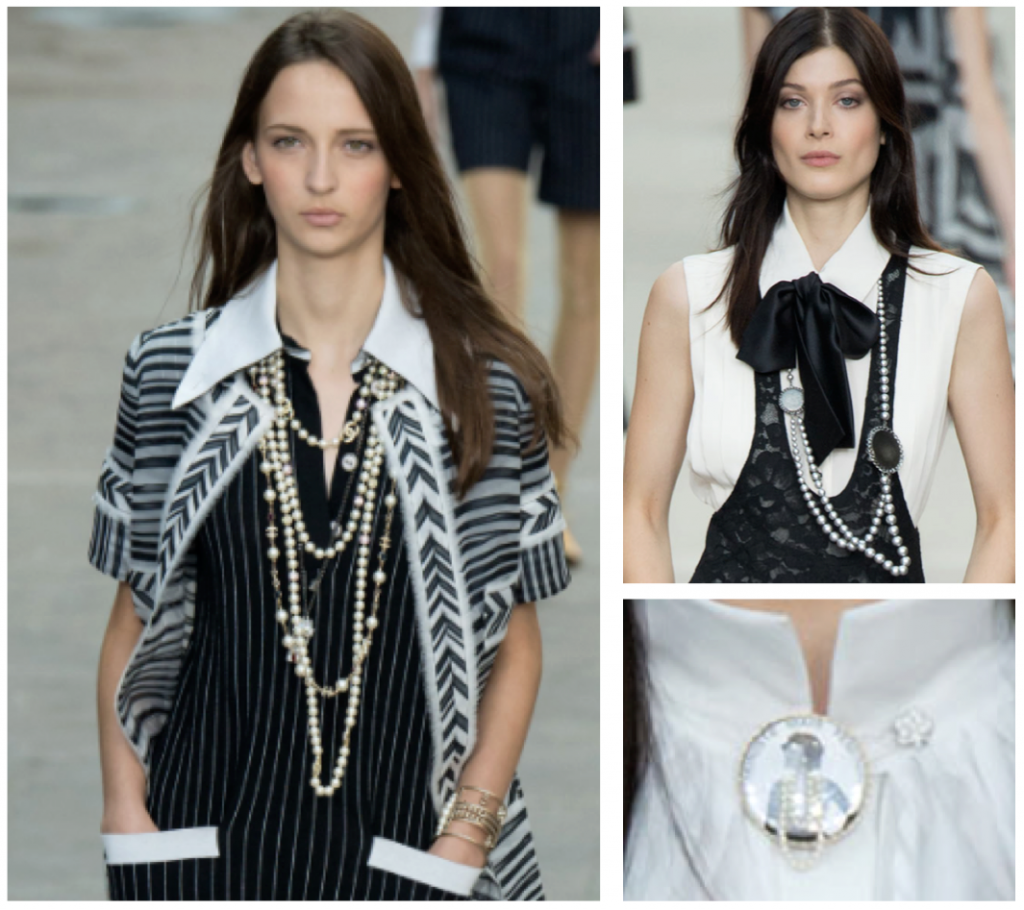 Chanel Chain Link Chanel Rope Pearl Necklaces