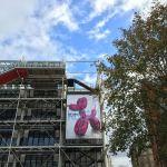 Jeff Koons Centre Pompidou …