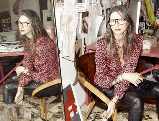 Jenna Lyons glasses