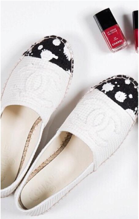 Chanel spring 2015 espadrilles